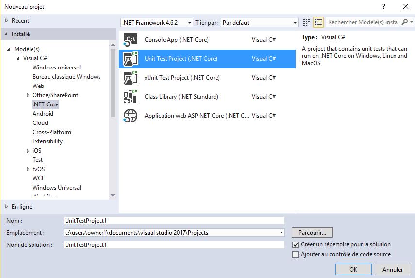 Prsentation des nouveauts de Visual Studio 2017